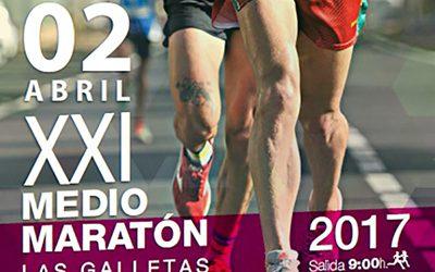 Abierta la inscripción para la XXI edición del Medio Maratón de Las Galletas