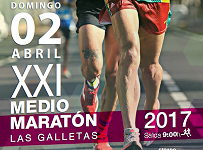 Se cerrará por completo el circuito del Medio Maratón de Las Galletas el próximo domingo