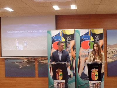 Presentación del XXI Medio Maratón de  Las Galletas 2017