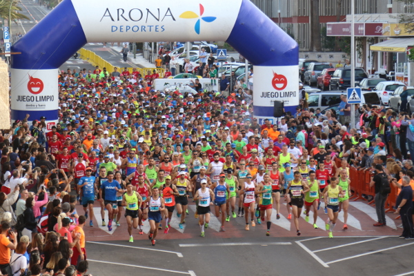 Con la novedad de una nueva distancia se abre el plazo de inscripción para el Medio Maratón de Las Galletas