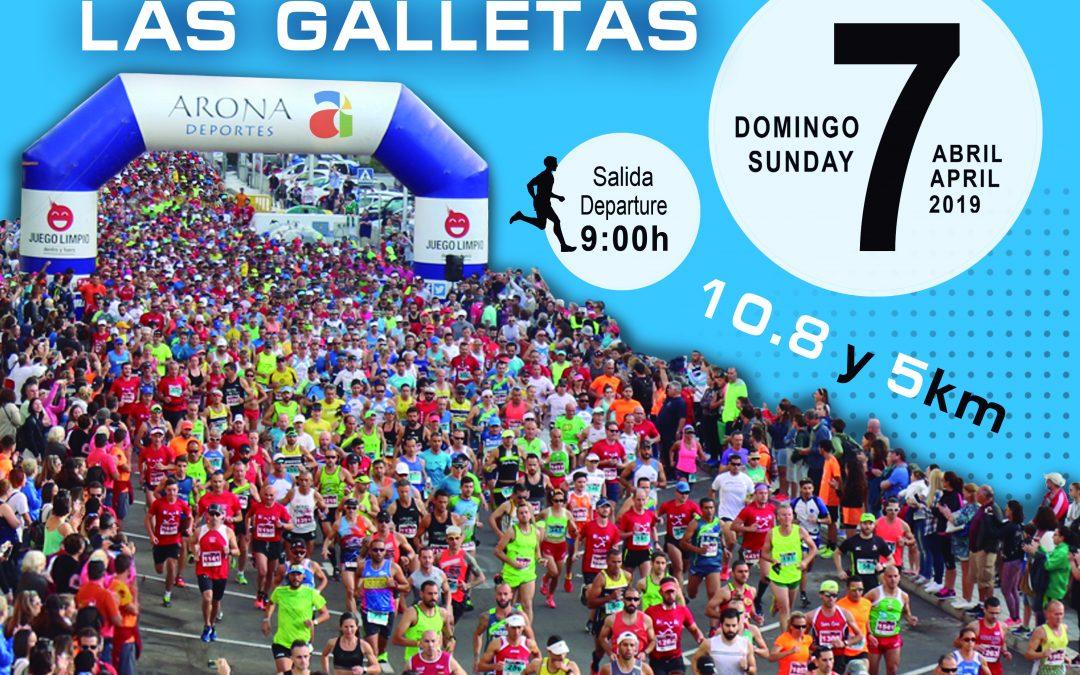 Abierta la inscripción para la XXIII edición del Medio Maratón de Las Galletas