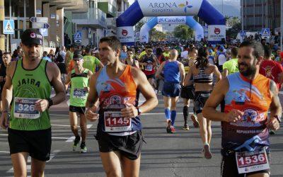 Última semana para inscribirse anticipadamente en el Medio Maratón de Las Galletas 2019
