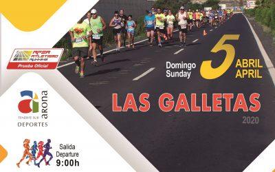 Apertura de inscripciones para la XXIV edición del Medio Maratón de las Galletas