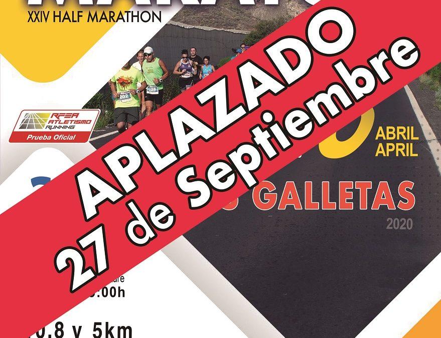 Aplazado el Medio Maratón Las Galletas 2020